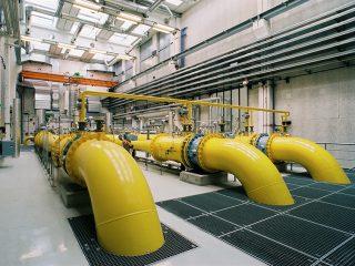 Energietechnik in Gaswerken, Chemiekonzernen und Kläranlagen